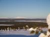 Taustalla Särkijärvi, Keimiötunturi, Jerisjärvi