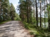 Oikealla Turvakko, vasemmalla Kelvänjärvi.